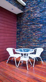 Patio Immagine Stock