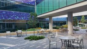 patio Imagem de Stock