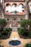 Patio andaluz Imagen de archivo libre de regalías