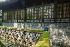Patio antiguo de Sichuan Fotografía de archivo libre de regalías