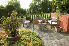 Patio Royalty Free Stock Photography