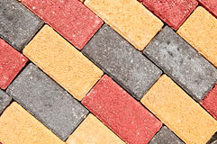 Patio Bricks Stock Photos