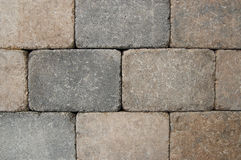 Patio bricks. Terracotta patio brick abstract background Royalty Free Stock Images