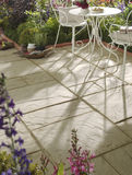 patio cegiełki Fotografia Royalty Free