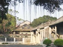 Patio chino antiguo Foto de archivo