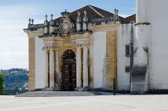 Patio of the Coimbra University Royalty Free Stock Images