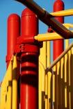 Patio colorido Foto de archivo libre de regalías