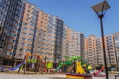Patio, Condo playground Royalty Free Stock Photo