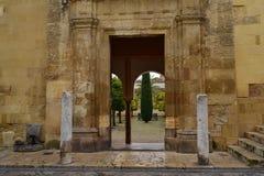 Patio d'Al d'Entrada Images stock