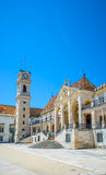 Patio das Escolas of the Coimbra University, Portugal. Royalty Free Stock Images