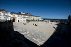 Patio DAS Escolas, université de Coimbra, Portugal photo stock