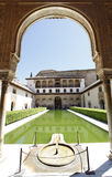 Patio de Arrayanes, Alhambra Royalty Free Stock Photography