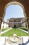 Patio DE Arrayanes, Alhambra royalty-vrije stock fotografie