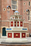 Patio de Hampton Court Palace fotos de archivo