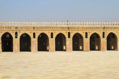 Patio de Ibn Tulun Imágenes de archivo libres de regalías