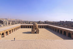 Patio de Ibn Tulun Imagenes de archivo