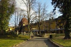 Patio de la abadía de Millstatt Fotos de archivo