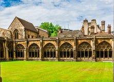 Patio de la abadía de Westminster Fotos de archivo