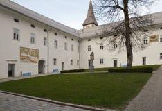 Patio de la abadía de Ossiach Fotografía de archivo libre de regalías