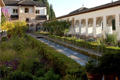Patio de la Acequia Stock Photography