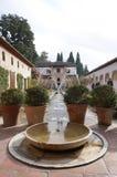 Patio de la Acequia (cour de la voie d'eau) Images stock