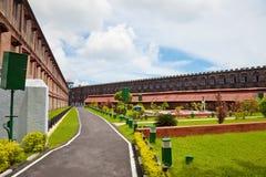 Patio de la cárcel de Port Blair Imágenes de archivo libres de regalías