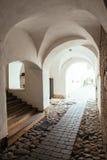 Patio de la ciudad vieja en Vilna Fotos de archivo