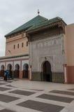 Patio de la mezquita Zaouia de Sidi Bel Abbes en Marrakesh Medina Imagenes de archivo