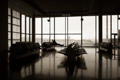 Patio de la terminal 2 imagenes de archivo