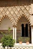 Patio DE las Doncellas in Sevilla royalty-vrije stock afbeelding