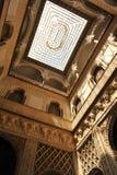 Patio de Las Muñecas, Alcazar königlich in Sevilla, Spanien Lizenzfreie Stockfotos