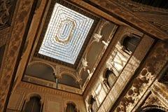 Patio de Las Muñecas, Alcazar königlich in Sevilla, Spanien Lizenzfreies Stockbild