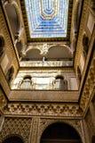 Patio de las Munecas dans le vrai Alcazar, Séville Photographie stock
