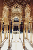 Patio de Leones, Alhambra, Granada Royalty Free Stock Photos