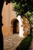 Patio de Lindaraja in Alhambra Royalty Free Stock Photos