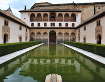 Patio de los Arrayanes Royalty Free Stock Image