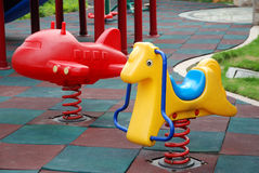 Patio de los niños Imagen de archivo libre de regalías