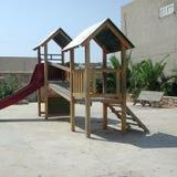 Patio de los niños al aire libre Foto de archivo