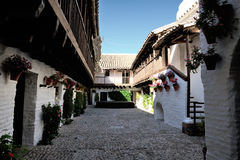 Patio de Posada del Potro, Cordoue, Espagne Photographie stock libre de droits