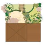Patio de projet Illustration Stock