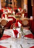 Patio de restaurant Photos libres de droits
