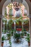Patio de Séville Photos libres de droits