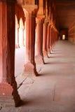 Patio de Taj Mahal, la India Imagen de archivo libre de regalías