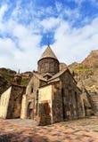 Patio de un monasterio antiguo Imagen de archivo libre de regalías