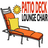 Patio Deck Lounge Chair Stock Photos