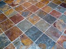 Patio del azulejo Foto de archivo