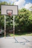 Patio del baloncesto en la universidad de Shenzhen, China Foto de archivo libre de regalías