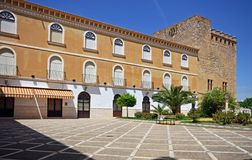 Patio del castillo, Cabra Imagen de archivo libre de regalías