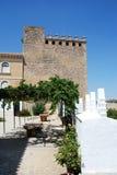 Patio del castillo, Cabra Imagen de archivo