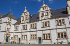 Patio del castillo de Neuhaus en Paderborn Imágenes de archivo libres de regalías